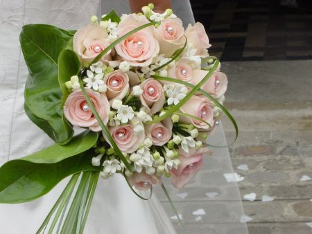 bouquet rond | look at mode